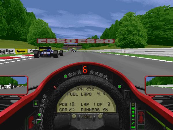 Der Beginn meiner Zocker-Karriere: Grand Prix 2 / © MicroProse