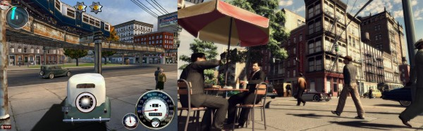 Meine Lieblingsspiele: Links Mafia: The City of Lost Heaven (2002), rechts Mafia II (2010) / © 2K Czech