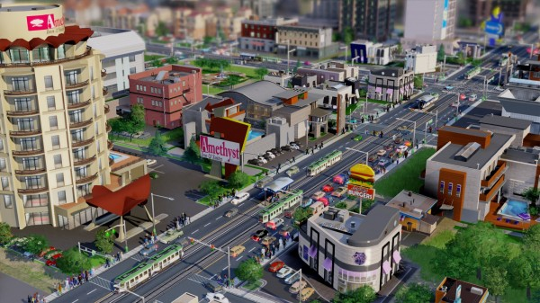 SimCity: Onlinezwang auch im Singleplayer / Foto: MAXIS