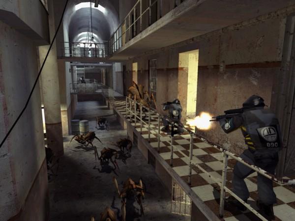 Half-Life 2 setzte 2004 neue Maßstäbe, nicht zuletzt dank der Source Engine. / © Valve