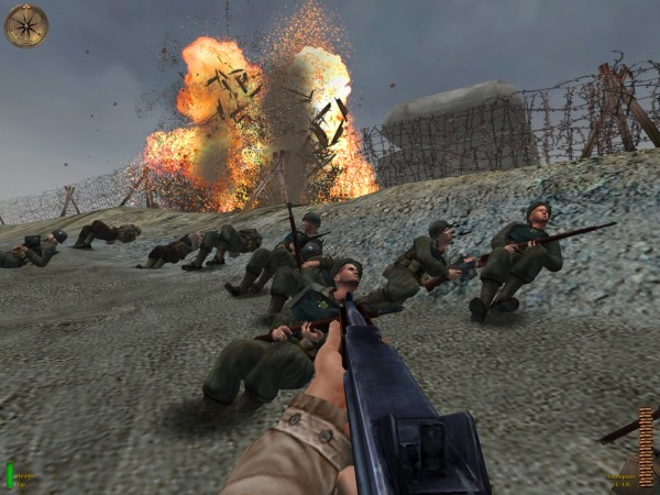 Omaha Beach in Medal of Honor: Allied Assault / © EA